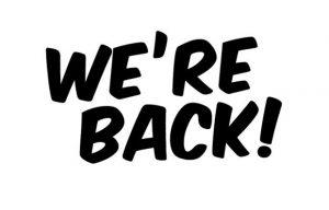estamos de volta